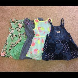 Bundle of 4 18 month dresses